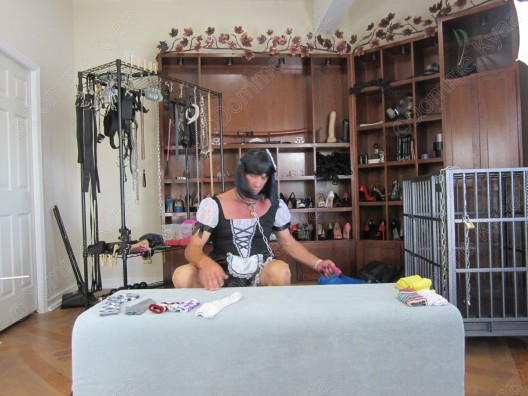 Being useful is all a sissy maid lives for, craves or needs.