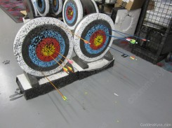 Pretty fucking good for our first day of archery!