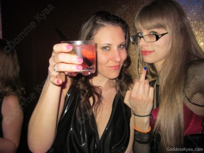 "Meggerz and I salute you losers and give you a hearty, ""Fuck off!"""
