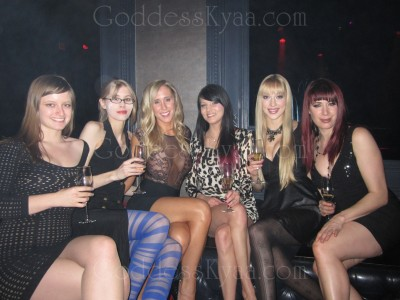Partying at the AVN parties in Vegas (where I'll be again in less than 2 weeks).