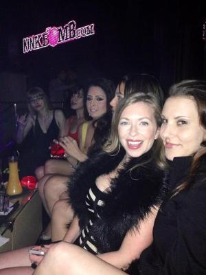 Partying in Vegas with Mistress T and many more beautiful women.