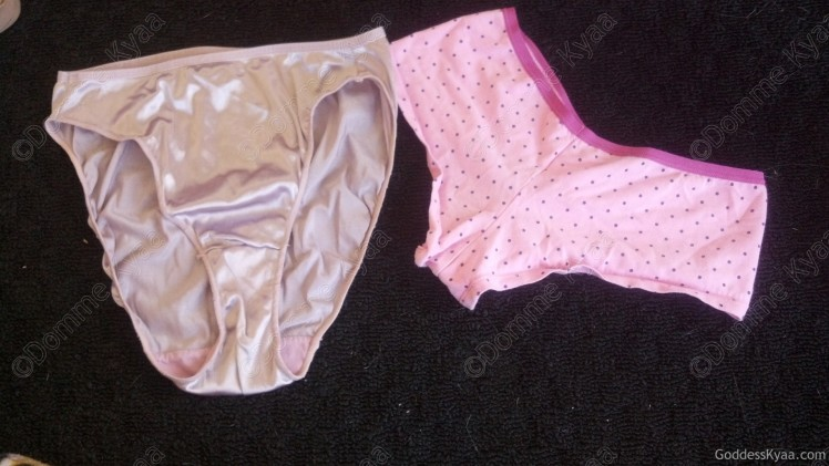 Panties from one of the packages